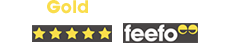 Feefo - 2019 Gold Trusted Service